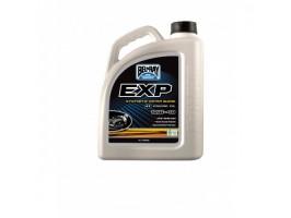 Моторное масло для спортивных мотоциклов полусинтетическое BEL RAY EXP 4T 10W-40 4L