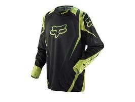 Мотоджерси Fox 360 VIBRON черно-зеленая