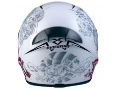 Шлем MARUSHIN 999 RS ET Kuseido бело-серый p.L