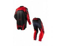 Мотоформа детская кроссовая 180 RACE штаны W26 + HC RACE джерси L красная
