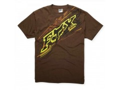 Футболка Flash s/s Tee DARK BROWN