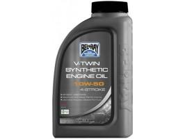 Моторное масло для чопперов BEL RAY V-Twin Syn Eng Oil 10W-50 1L