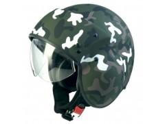 Мотошлем MARUSHIN B2 Camouflage зелен/мат. p.S