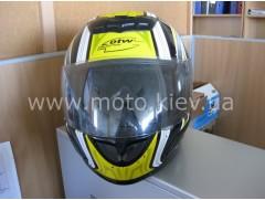 Шлем OTW RC-100, р. 62/XL, ч-желт.