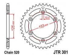 Звезда задняя JTR301.45 HONDA XR650L