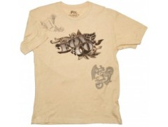 Футболка Counterfeit Heathered s/s Tee Khaki