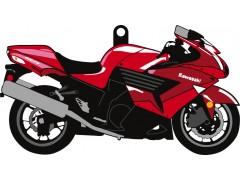 Брелок для ключей Kawasaki ZZR-1400
