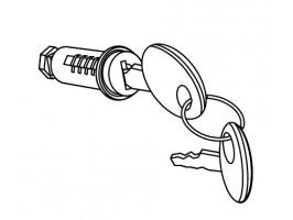 Личинка замка с ключом