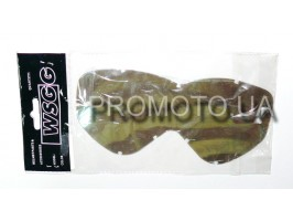 Незапотевающее стекло-пинлок для кроссовых мотоочков