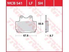 Тормозные колодки MCB 541