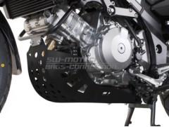 Защита двигателя на SUZUKI DL 1000 V-Strom черная