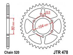 Звезда задняя JTR478-45