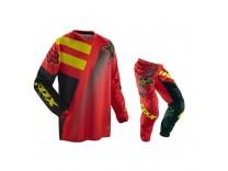 Мотоформа детская кроссовая 180 ROCKSTAR штаны W26 + HC ROCKSTAR джерси L красная