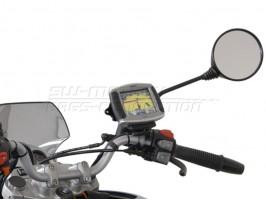 Крепление  площадки GPS-навигатора на основание зеркала