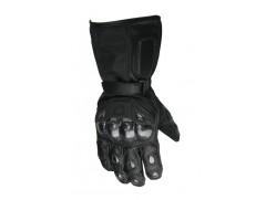 Влагозащищенные перчатки кожа-текстиль р. М