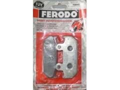 Тормозные колодки на HONDA FERODO FDB462