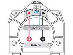 Электро-адаптер для мотосумки на бак