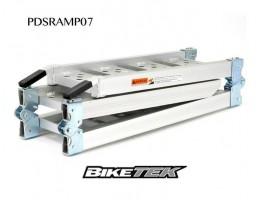 Алюминиевый трап для мотоцикла компактный