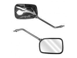 Зеркала универсальные металлические, пара, резьба 10мм