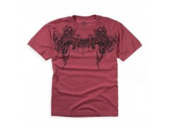 Футболка Gargoyle Heathered s/s Tee Red