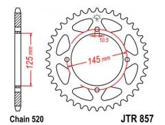 Звезда задняя JTR857.39