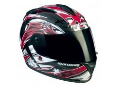 Шлем MARUSHIN 888NX Haguro красный p.XL