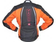 Мотокуртка Yamato - Majo, р. S, чёрно-оранжевый