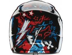Мотошлем кроссовый FOX V1 CREEPIN ECE BLUE