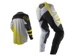 Мотоформа детская кроссовая 360 MACHINA штаны W24 + 360 MACHINA джерси M желтая