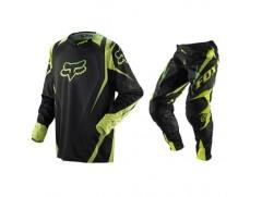 Мотоформа кроссовая 360 VIBRON штаны W32 + 360 VIBRON джерси L черно-зеленая