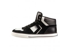 Кроссовки Fox Phantom Mid Shoe Mens BLACK/WHITE