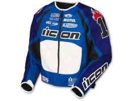 Мотокуртка Icon - Team Merc Stage 2 Gixxer, p. L, синий