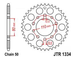 Звезда задняя JTR1334.40