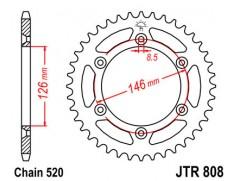Звезда задняя JTR808.48