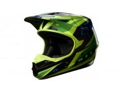 Мотошлем кроссовый FOX V1 RACE ECE зеленый