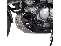 Защита двигателя на SUZUKI DL 650 V-Strom серебристо-черная
