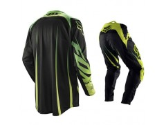 Мотоформа кроссовая 360 VIBRON штаны W36 + 360 VIBRON джерси XL черно-зеленая