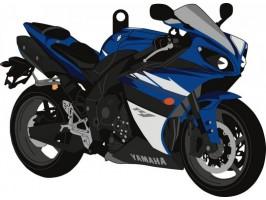 Брелок для ключей Yamaha YZF-R1 '09-