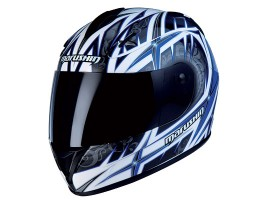 Мотошлем MARUSHIN 888 RS ET Taki, черно-синий, p.L