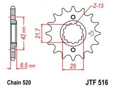 Звезда передняя JTF 516.14