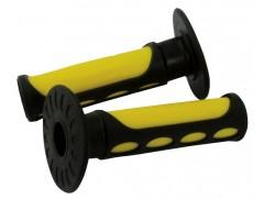Ручки руля эндуро желтые