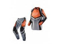Мотоформа детская кроссовая 180 RACE штаны W28 + HC RACE джерси XL оранжевая