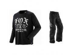Мотоформа кроссовая NOMAD штаны W32 + NOMAD RETRO RIDER джерси L черная
