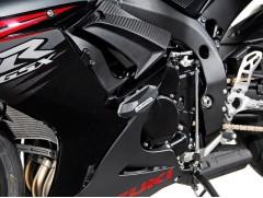Боковые слайдеры (крашпеды) для Suzuki GSX-R 600/750 (11-)