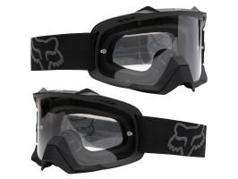 Очки кроссовые Airspc Sand - Matte Black / Grey