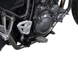 Подножки водителя на Yamaha XT660 Z (07-10) X (04-) R (04-09)