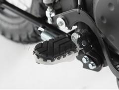 Подножки водителя на Kawasaki KLR650