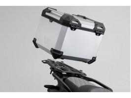 Металлический кофр SW-MOTECH ADV с крепл. на ориг. багажник BMW F750/850GS (18-) серебр.