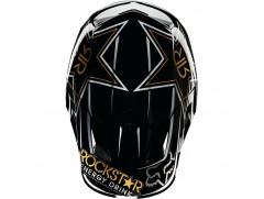 Мотошлем кроссовый FOX V4 ROCKSTAR helmet черный