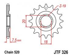 Звезда передняя JTF 326.13